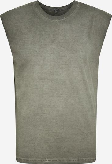Tricou 'Maze' tigha pe gri, Vizualizare produs
