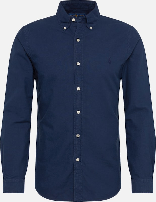 POLO RALPH LAUREN Hemd 'OXFORD' in navy, Produktansicht