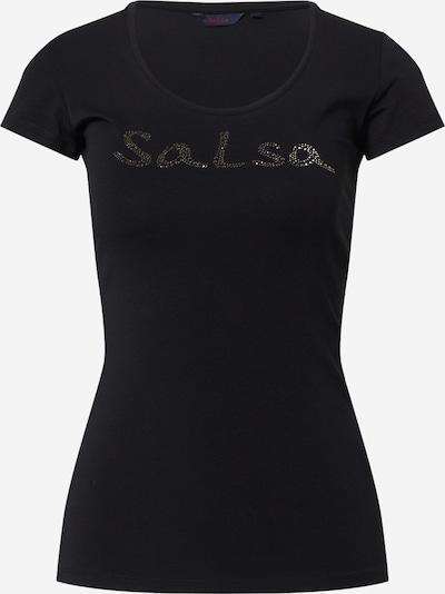 Salsa T-shirt 'GERMANY' en noir, Vue avec produit