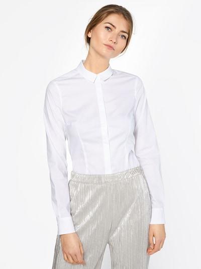 DRYKORN Bluza 'LIVY' | bela barva, Prikaz modela
