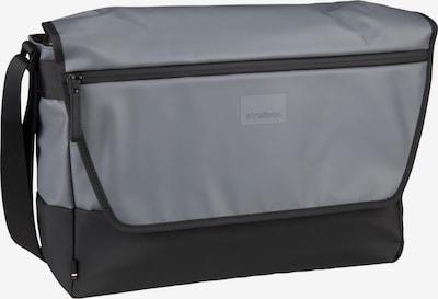 STRELLSON Laptoptasche ' Stockwell Messenger LHF ' in grau / schwarz, Produktansicht
