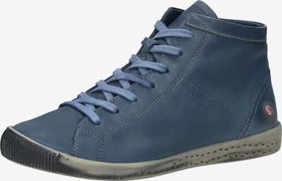 Softinos Sneaker in taubenblau, Produktansicht