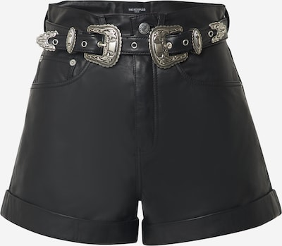 The Kooples Shorts in schwarz: Frontalansicht