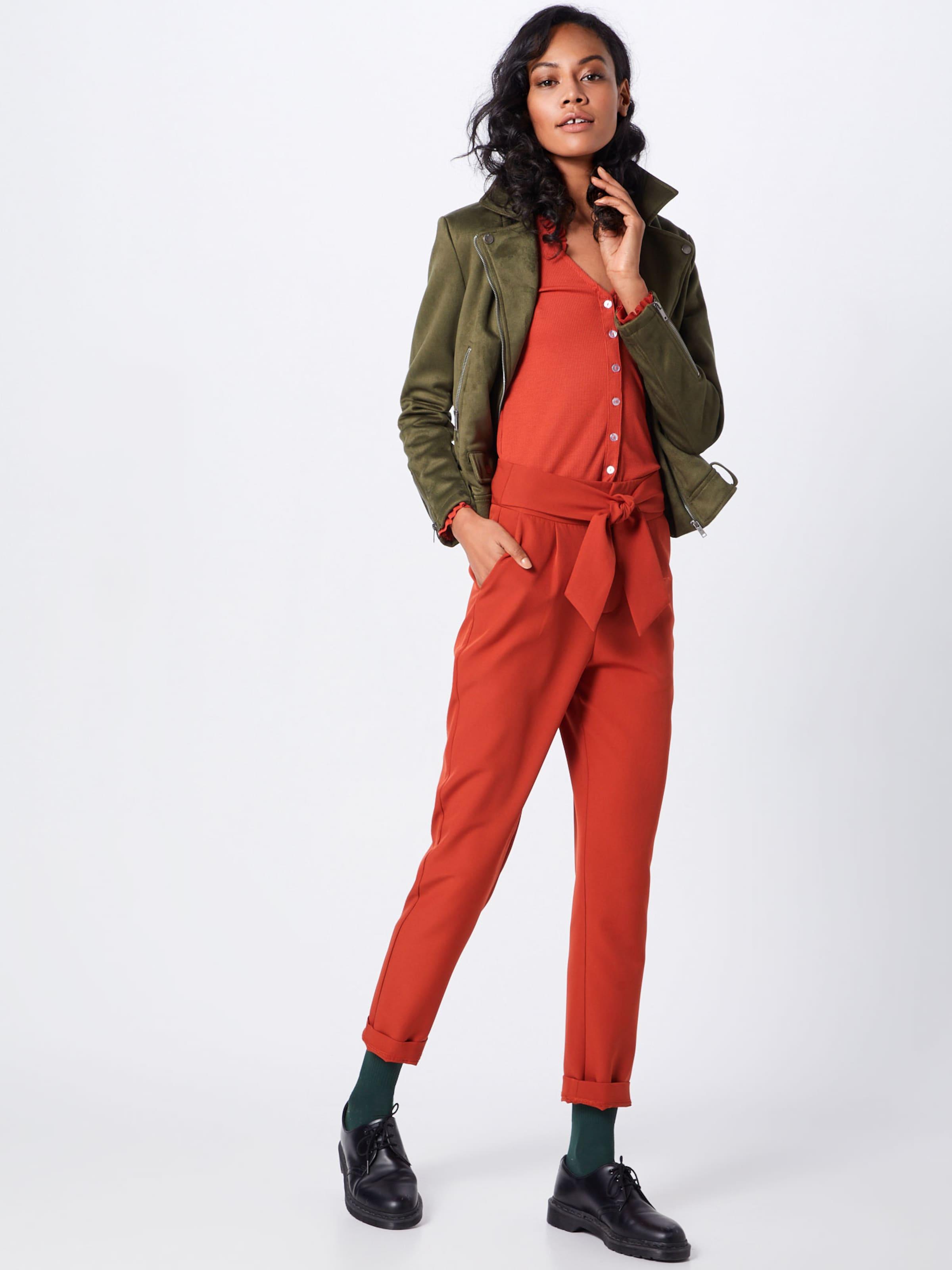 Pince Trousers' À En Rouge Feu Pantalon 'mison Union Fashion K5ucF3Tl1J