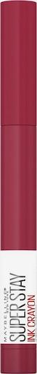 MAYBELLINE New York Lippenstift in pink, Produktansicht