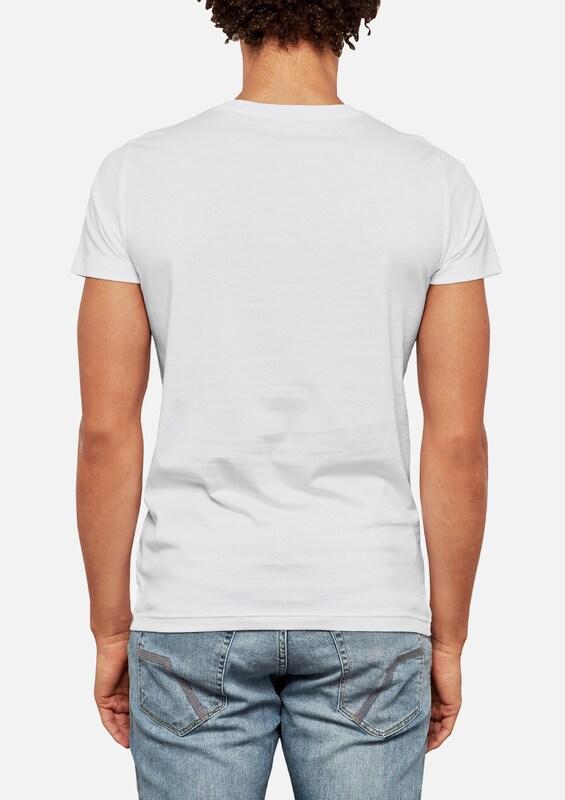 Q/S designed by T-Shirt mit Foto-Print