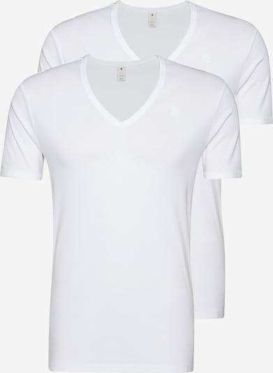 G-Star RAW T-Shirt 'Base V T' in weiß, Produktansicht