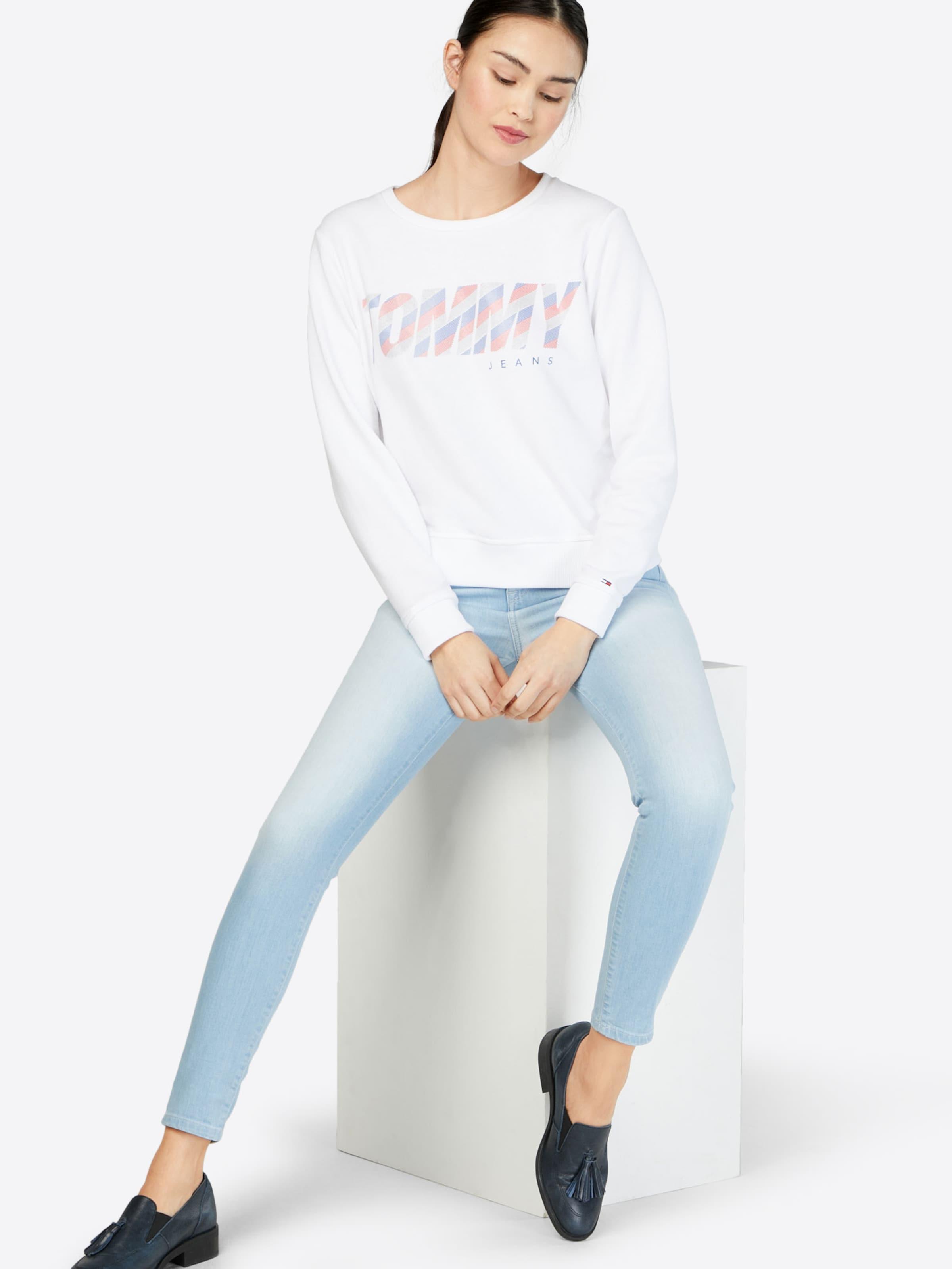 Tommy Jeans Sweatshirt mit Label-Print Spielraum Bestseller Zum Verkauf Günstigen Preis Vorbestellung Günstiger Preis ROV6QUncUM