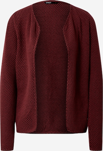 ONLY Knit Cardigan in Red
