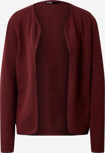 Geacă tricotată ONLY pe burgund, Vizualizare produs