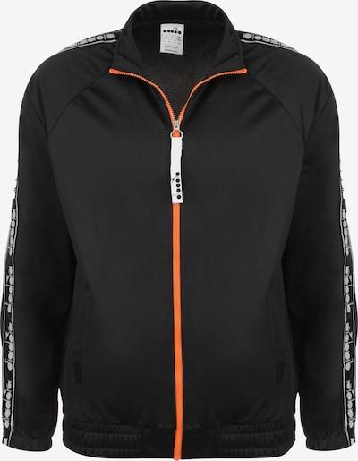 Diadora Trainingsjacke ' TRACK JACKET TROFEO ' in schwarz, Produktansicht