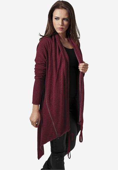 Urban Classics Cardigan in burgunder, Modelansicht