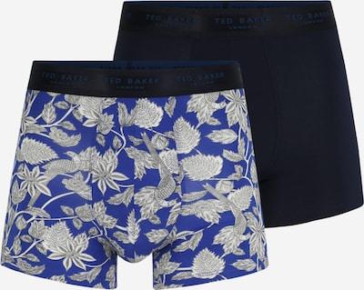 Ted Baker Boxershorts in blau / navy / weiß, Produktansicht
