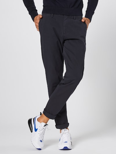 Dockers Chino 'SMART 360 FLEX' in de kleur Navy, Modelweergave
