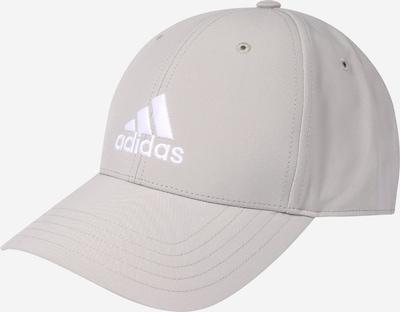 ADIDAS PERFORMANCE Sportpet in de kleur Grijs / Wit, Productweergave