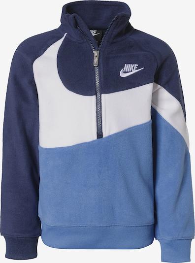 Nike Sportswear Pullover in navy / rauchblau / weiß, Produktansicht