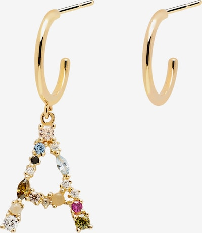 P D PAOLA Earrings in Gold / Mixed colours, Item view