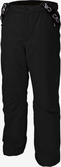 CMP Pantalon outdoor 'SALOPETTE' en noir, Vue avec produit