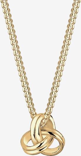 ELLI PREMIUM Halskette Knoten in gold, Produktansicht