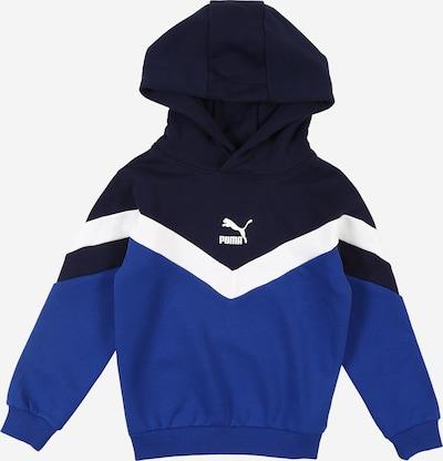 PUMA Sweatshirt in blau / dunkelblau / weiß, Produktansicht