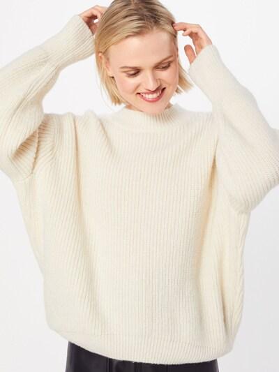 Megztinis 'Sabretta' iš HUGO , spalva - balta: Vaizdas iš priekio