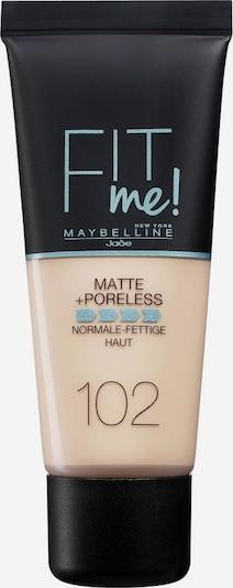 MAYBELLINE New York 'Fit me! Matte+Poreless', Make-up in nude, Produktansicht
