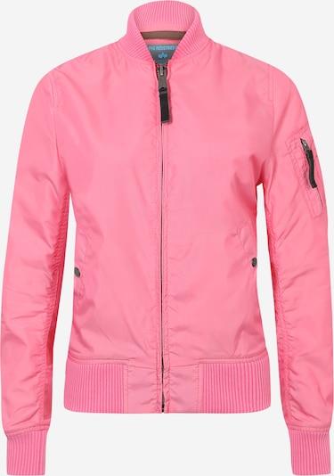 ALPHA INDUSTRIES Blouson im Bomber-Look in pink, Produktansicht