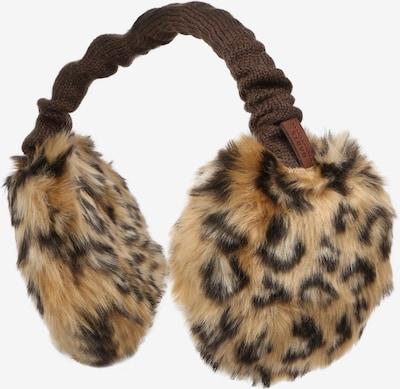 Barts Ohrenwärmer 'Plush' in braun / schwarz, Produktansicht