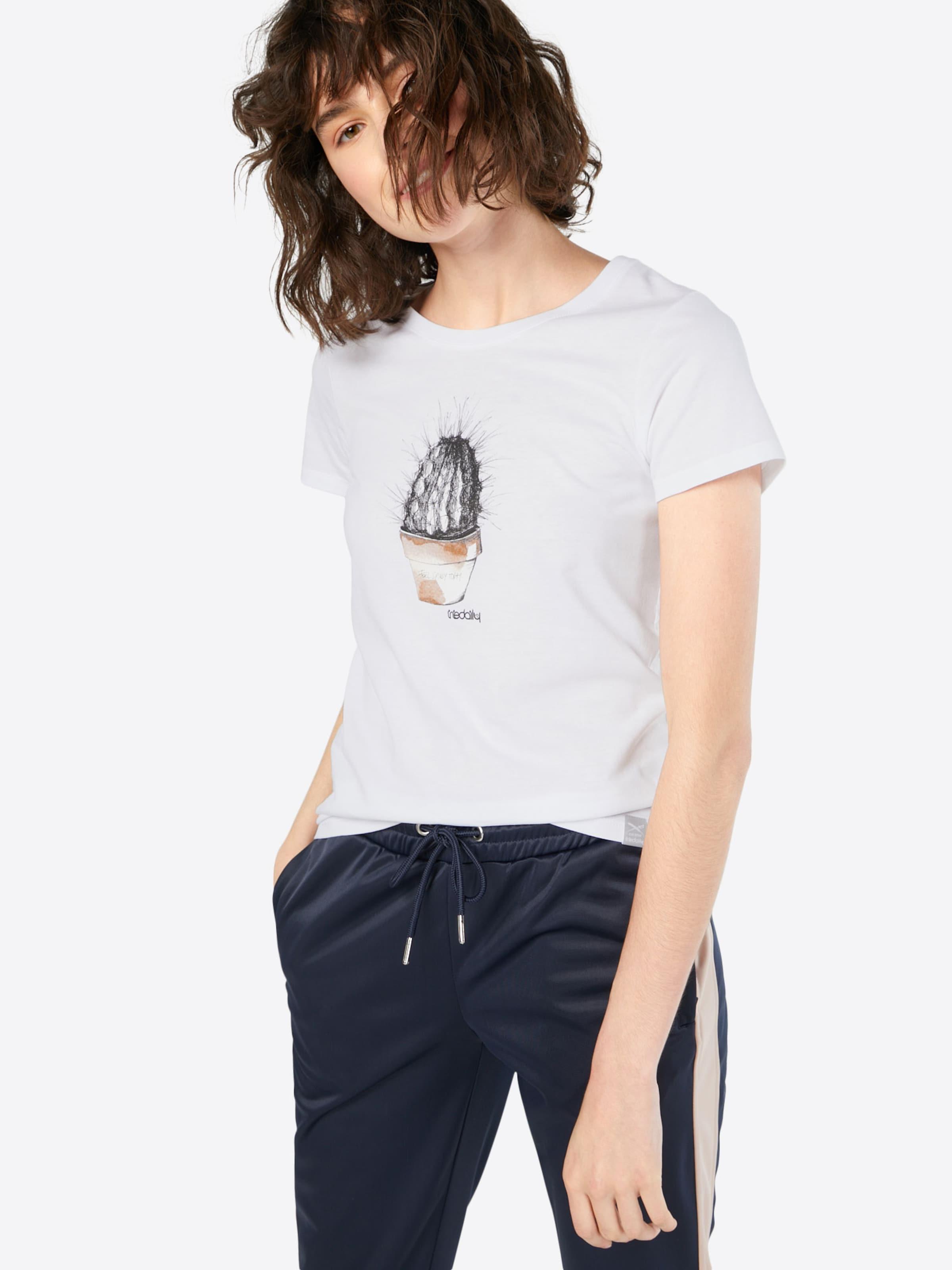 'spikey' T Iriedaily shirt In Weiß CtdhxrsQ