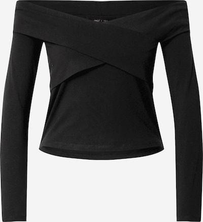 Tricou 'Selina' ONLY pe negru, Vizualizare produs