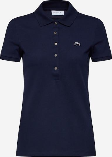 LACOSTE T-shirt en marine, Vue avec produit