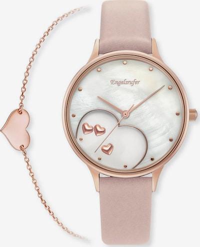 Engelsrufer Set 'Happy Hearts' in rosegold / rosa / perlweiß, Produktansicht