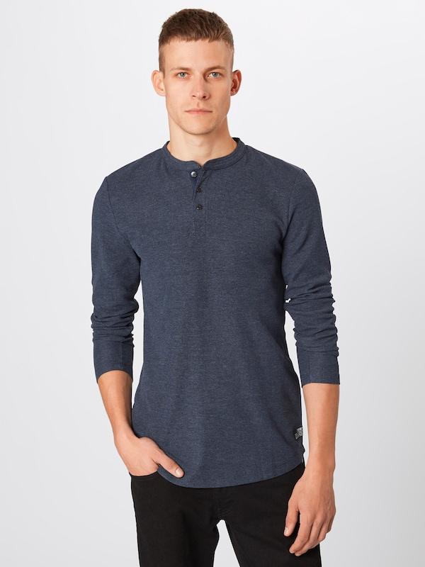 Tom En shirt Bleu Denim T Tailor Nuit ED9WH2I