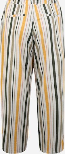 Junarose Pantalon 'MAGALI' en beige / jaune / noir, Vue avec produit