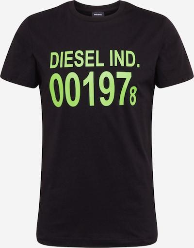 DIESEL T-Shirt 'DIEGO-001978' in schwarz, Produktansicht