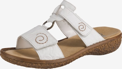 RIEKER Pantofle - bílá, Produkt