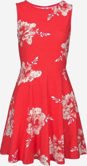 BEACH TIME Лятна рокла в светлочервено / бяло, Преглед на продукта