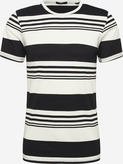 JACK & JONES T-Shirt 'JPROAK' en noir / blanc, Vue avec produit