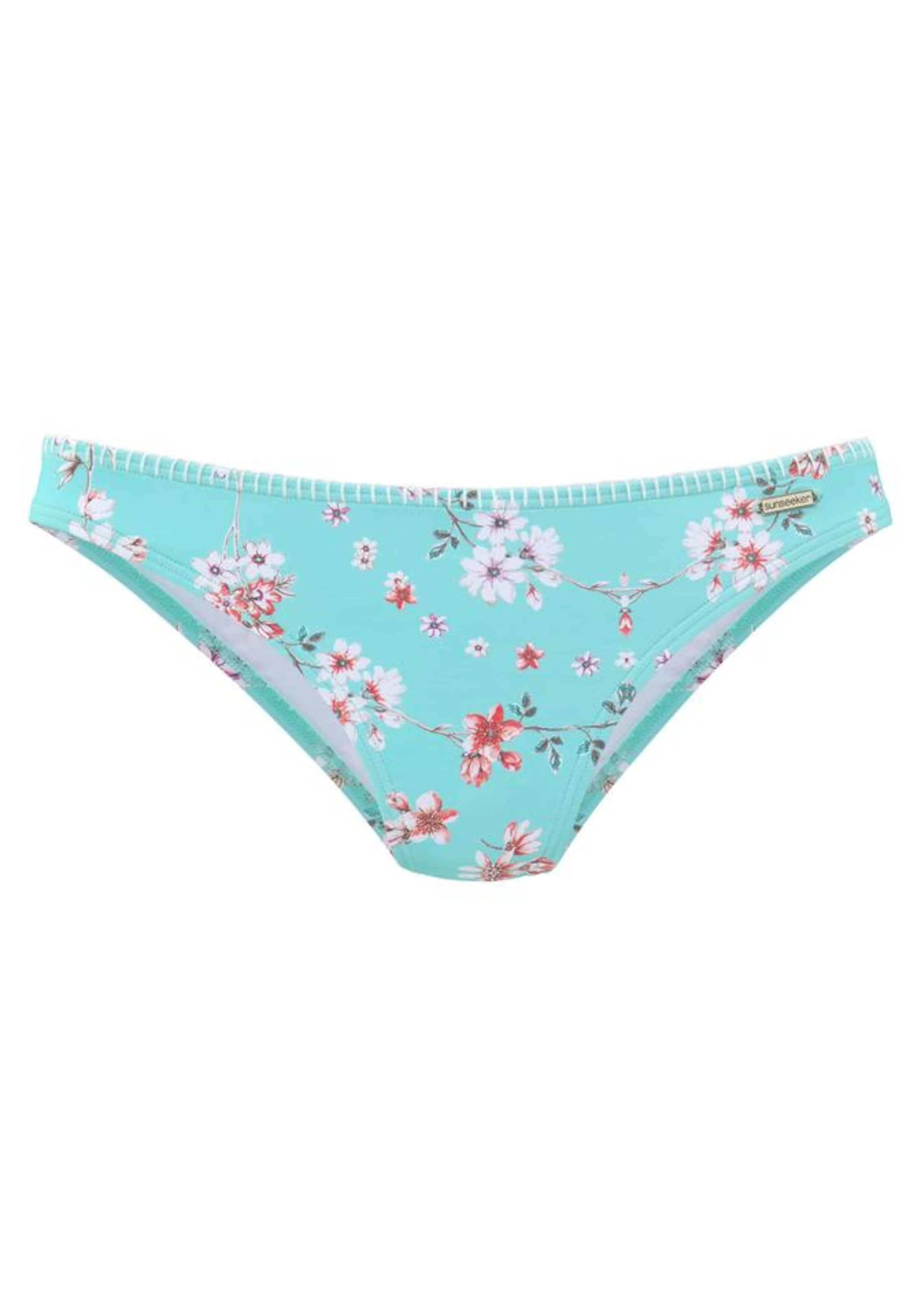 Sunseeker HellblauMischfarben Bikini 'ditsy' In hose bf6g7y