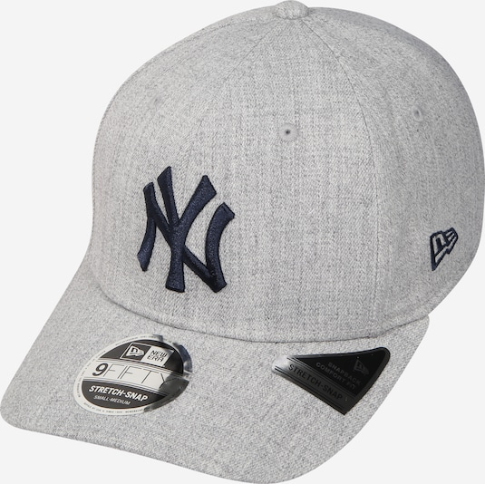 NEW ERA Cap 'HEATHER BASE 9FIFTY STRETCH' in graumeliert / schwarz, Produktansicht