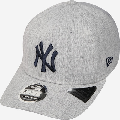 NEW ERA Casquette 'HEATHER BASE 9FIFTY STRETCH' en gris chiné / noir, Vue avec produit