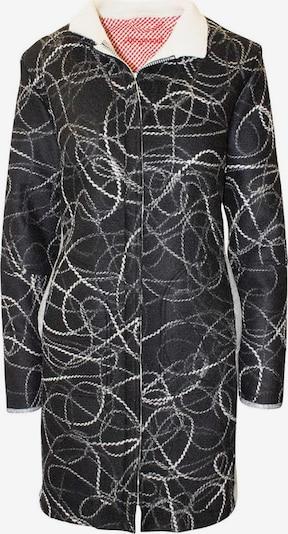 Almgwand Jacke 'Mahnkopf' in grau / schwarz / weiß, Produktansicht