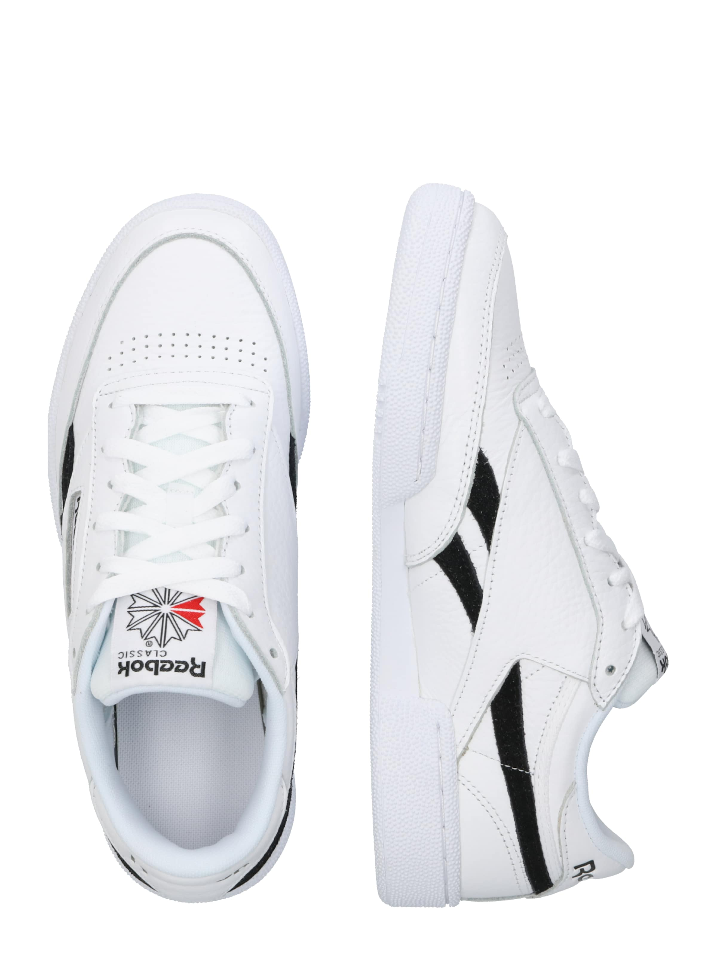 In 'revenge RotSchwarz Plus Classic Mu' Reebok Weiß Sneaker xCBedo