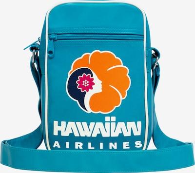 LOGOSHIRT Tasche 'Hawaiian Airlines' in türkis, Produktansicht