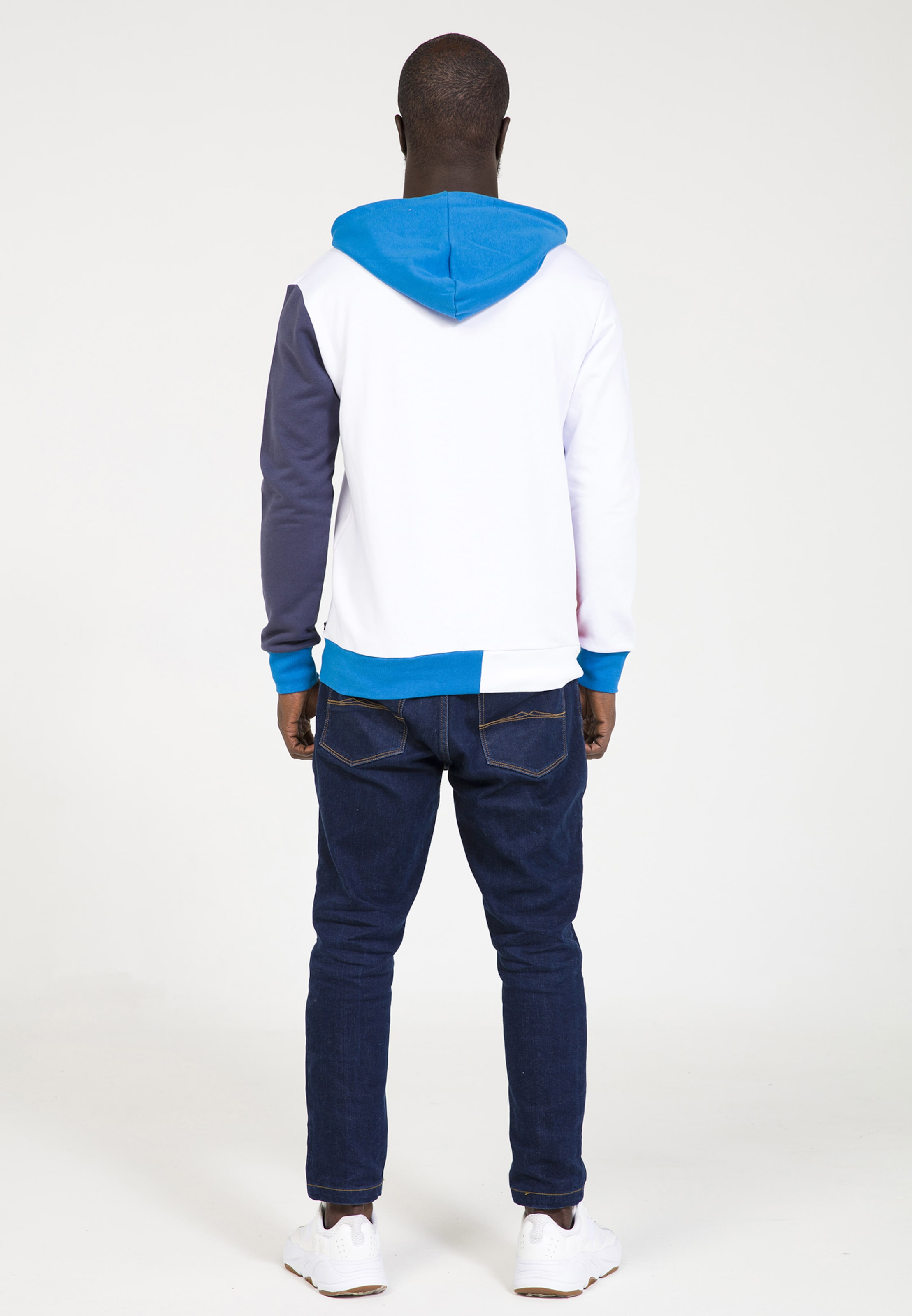 shirt ClairRouge Blanc Sweat Bleu Eighteen Plus En pqSMUzV