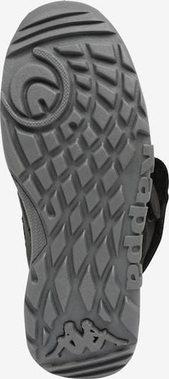 KAPPA Stiefel 'GURLI TEX' in schwarz / silber: Ansicht von unten