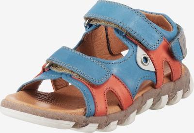 myToys-COLLECTION Sandale in blau / pastellrot, Produktansicht