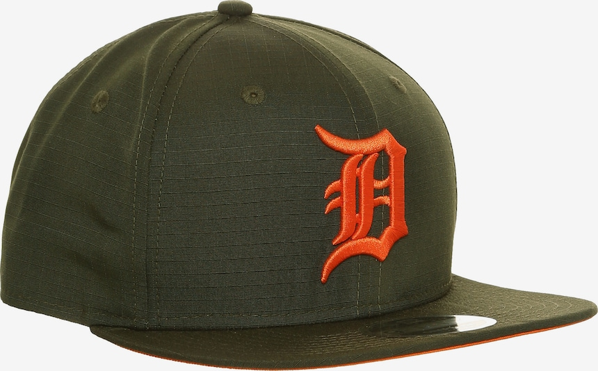 NEW ERA Cap 'MLB Detroit Tigers' in dunkelgrün / rot, Produktansicht