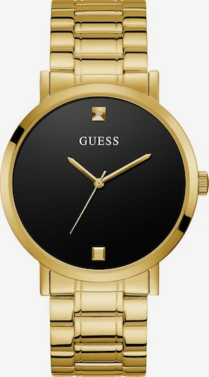 GUESS Guess Quarzuhr »GENUINE DIAMOND, W1315G2« in gold: Frontalansicht