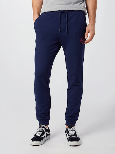 JACK & JONES Sweathose 'Gordon ' in navy, Modelansicht